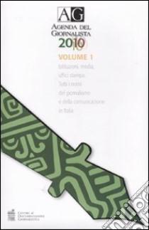 Agenda del giornalista 2010. Con CD-ROM (1) libro