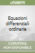 Equazioni differenziali ordinarie libro