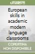 European skills in academic modern language classrooms