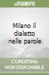 Milano il dialetto nelle parole libro
