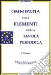 Omeopatia e gli elementi della tavola periodica libro