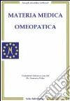 Materia medica omeopatica libro