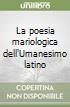 La poesia mariologica dell'Umanesimo latino libro