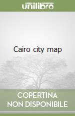 Cairo city map libro