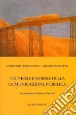 Tecniche e norme della comunicazione pubblica