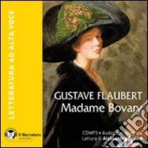 Madame Bovary. Audiolibro. CD Audio formato MP3. Con e-text. Ediz. integrale  di Flaubert Gustave