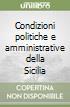 Condizioni politiche e amministrative della Sicilia libro di Franchetti Leopoldo