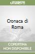 Cronaca di Roma (1852-1858) (3) libro
