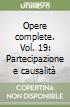 Opere complete (19) libro