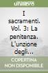 I sacramenti (3) libro