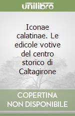 Iconae calatinae. Le edicole votive del centro storico di Caltagirone libro di Lo Faro Sara - Falcone Salvo