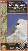 Alpi Apuane. Carta topografica-escursionistica 1:25.000. Ediz. italiana, inglese e tedesca libro