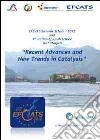 Recent advances and new trends in Catalysis