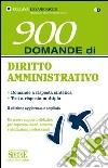 900 domande di diritto amministrativo libro