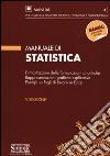 Manuale di statistica libro
