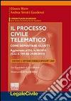 Il processo civile telematico. Con software