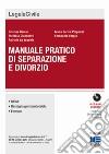 Manuale pratico di separazione e divorzio libro