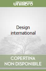 Design international libro