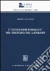 L'«extraterritorialità» nel Trattato del Laterano libro