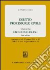 Diritto processuale civile. Vol. 1: Disposizioni generali libro