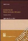 Lezioni di procedura penale libro
