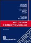 Istituzioni di diritto internazionale libro