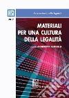 Materiali per una cultura della legalità 2017 libro
