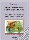 Programmazione GDL e geometria analitica libro