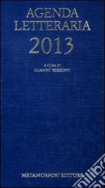 Agenda letteraria 2013 libro