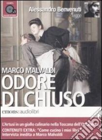 Odore di chiuso letto da Alessandro Benvenuti. Audiolibro. CD Audio formato MP3. Ediz. integrale  di Malvaldi Marco