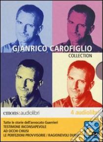 Tutte le storie dell'avvocato Guerrieri letto da Gianrico Carofiglio. Audiolibro. 4 CD Audio formato MP3. Ediz. integrale  di Carofiglio Gianrico