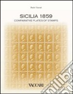 Sicilia 1859. Comparative plates of stamps libro