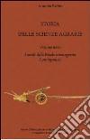 Storia delle scienze agrarie (3) libro