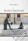 Sritti e interventi libro