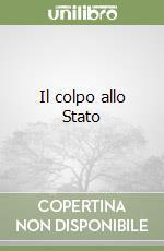 Il colpo allo Stato libro di Di Domenico Mario