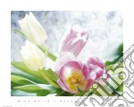 Bouquet of Tulips poster di Mina Selis
