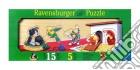 Baby puzzle in legno 5 pz sagomati - i miei animali preferiti puzzle