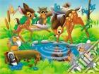 Puzzle 24 pz pavimento - daf bambi al ruscello puzzle