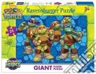 Ravensburger 05470 - Puzzle Da Pavimento 24 Pz - Teenage Mutant Ninja Turtles - Gli Eroi Ninja In Azione puzzle