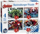 Ravensburger 07021 - Puzzle 4 In A Box - Avengers puzzle