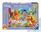 Puzzle 24 pz pavimento - dwp picnic sul prato puzzle