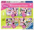 Puzzle 4 In A Box - Minnie puzzle
