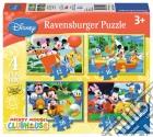 Puzzle 4 In A Box - La Casa Di Topolino puzzle