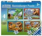 Ravensburger 07143 - Puzzle 4 In A Box - The Good Dinosaur - Il Viaggio Di Arlo puzzle