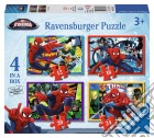 Ravensburger 07363 - Puzzle 4 In A Box - Ultimate Spider-Man puzzle