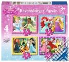 Ravensburger 07397 - Puzzle 4 In A Box - Principesse Disney puzzle