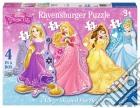 Ravensburger 07398 - Puzzle Da Pavimento 24 Pz - Principesse Disney - 4 Puzzle Sagomati puzzle