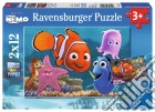 Ravensburger 07556 - Puzzle 2x12 Pz - Alla Ricerca Di Nemo puzzle
