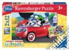 Ravensburger 07565 - Puzzle 2x12 Pz - La Casa Di Topolino puzzle