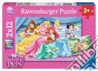 Ravensburger 07580 - Puzzle 2x12 Pz - Palace Pets puzzle